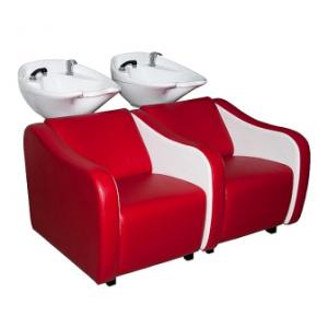 Парикмахерские мойки с двумя сиденьями